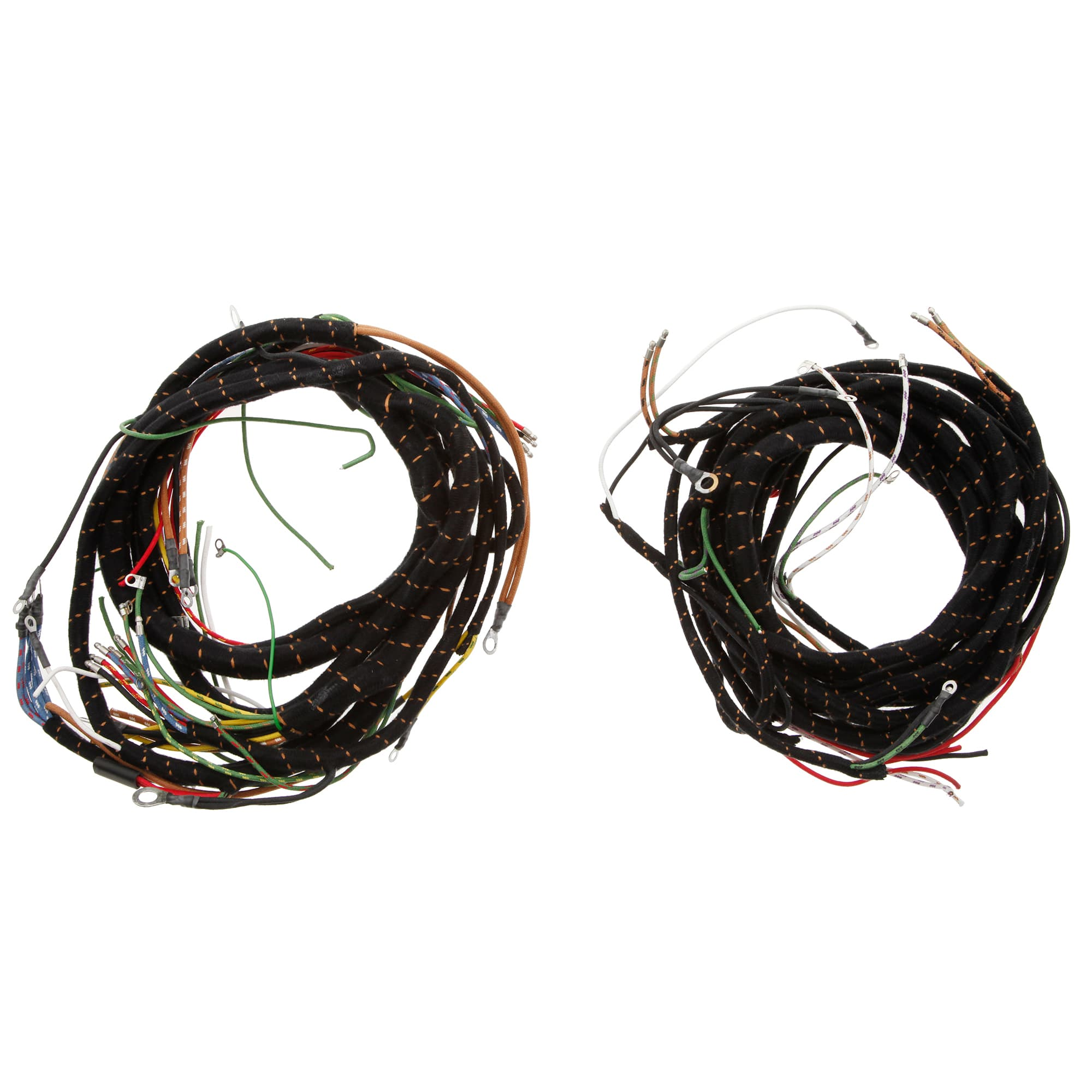 356 150 Wiring Harness Pvc Moss Motors Braided Stainless Wire Lacquer Braid