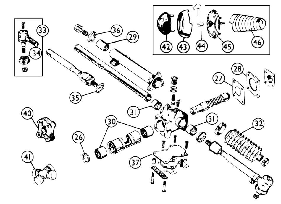 jaguar xk120 wiring diagram database Jag XK140 steering steering suspension steering jaguar xk120 140 150 vintage jaguar xk120 jaguar xk120