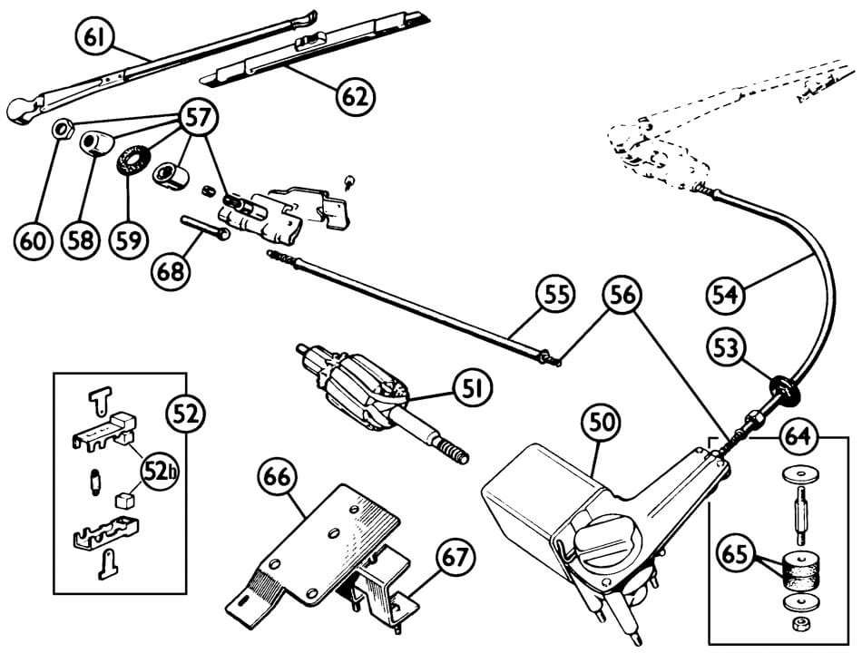 Wipers: 62 Austin Healey Sprite Wiring Diagram At Teydeco.co