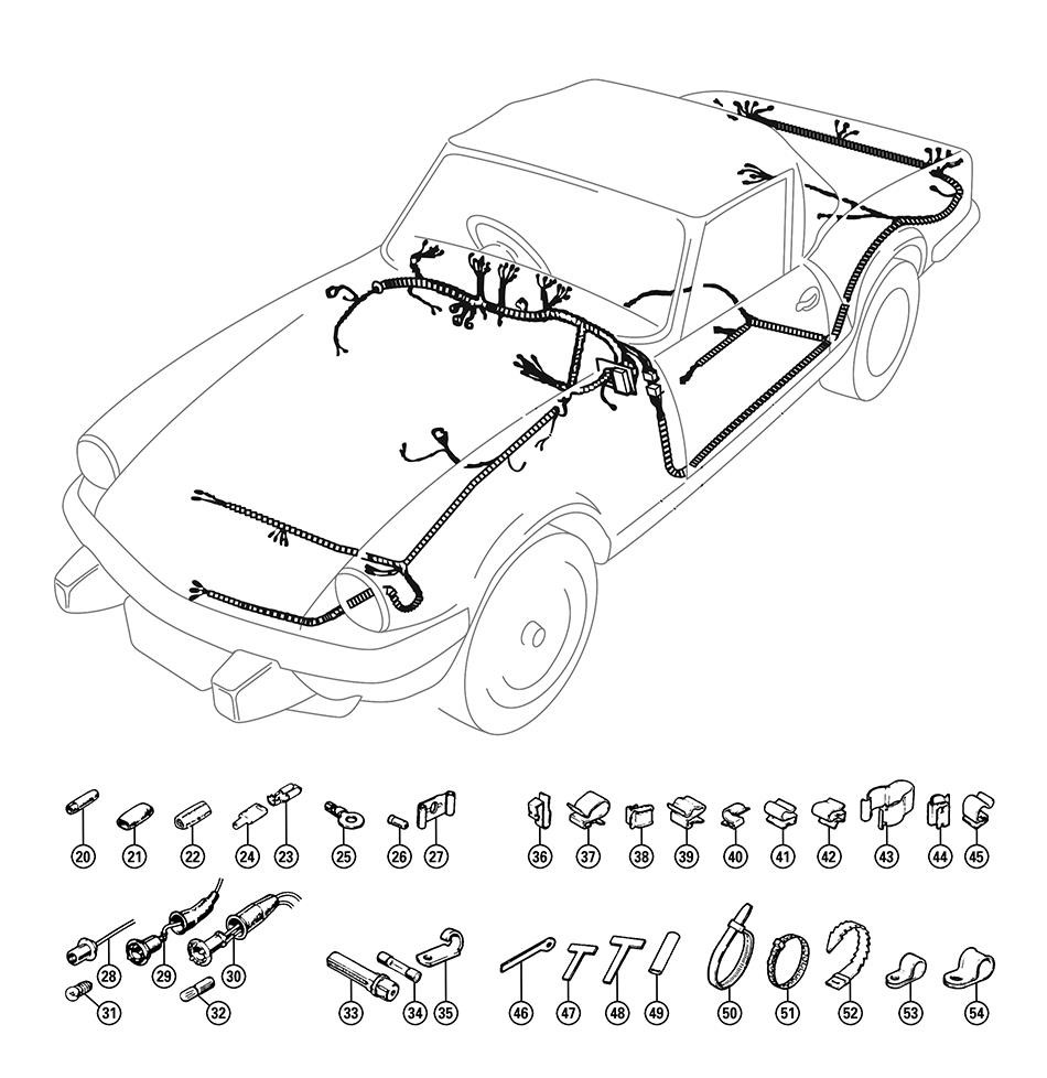 wiring harnesses - electrical  u0026 ignition
