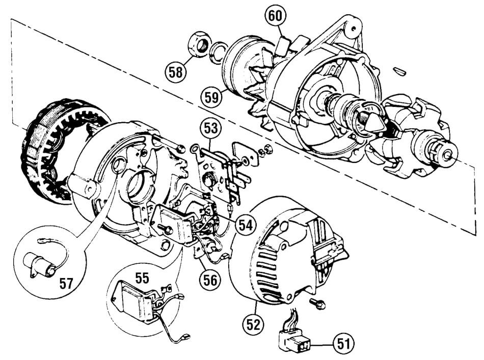 Tr6 Alternators