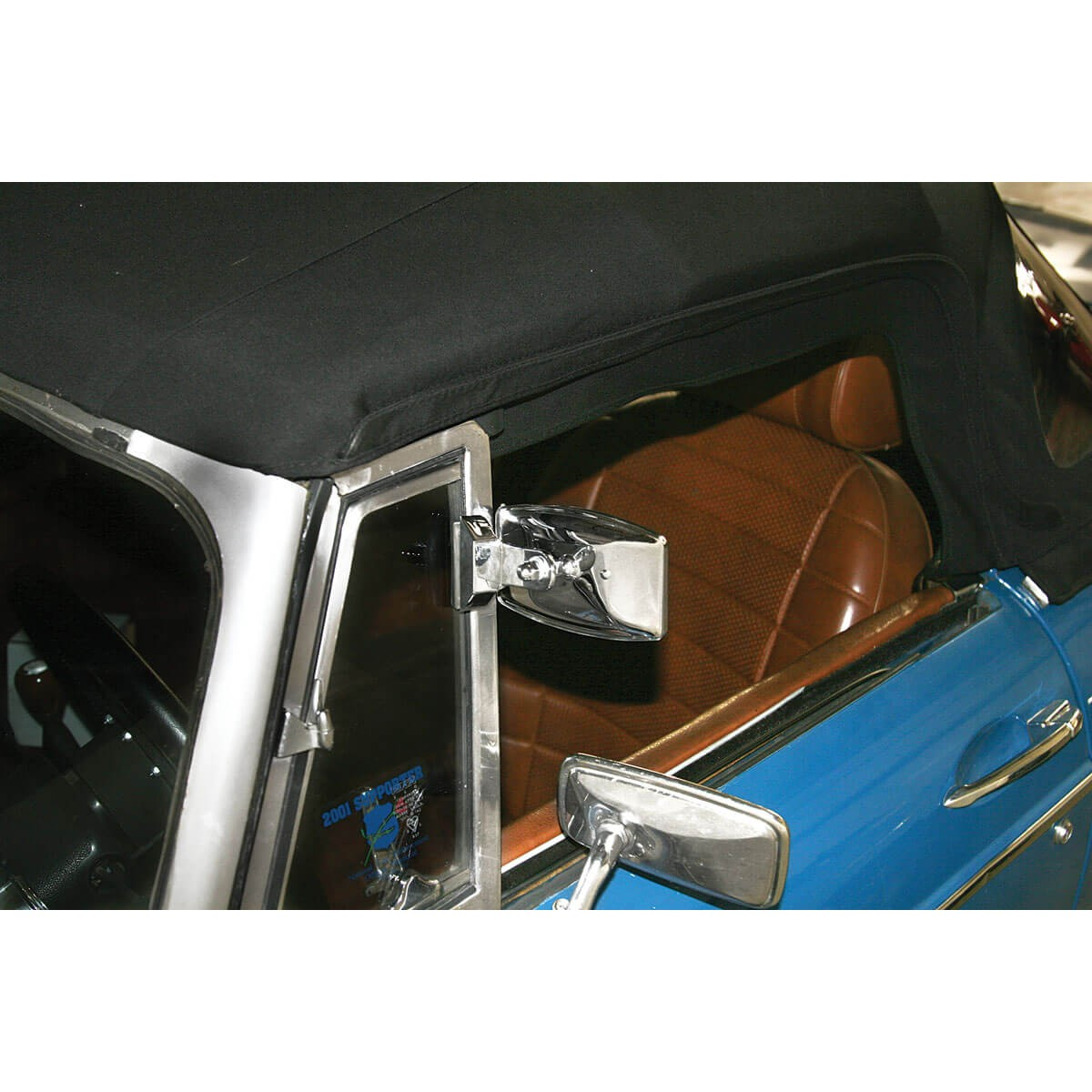 Jaguar E Type >> 165-175 Quarter Light Mirror | Moss Motors
