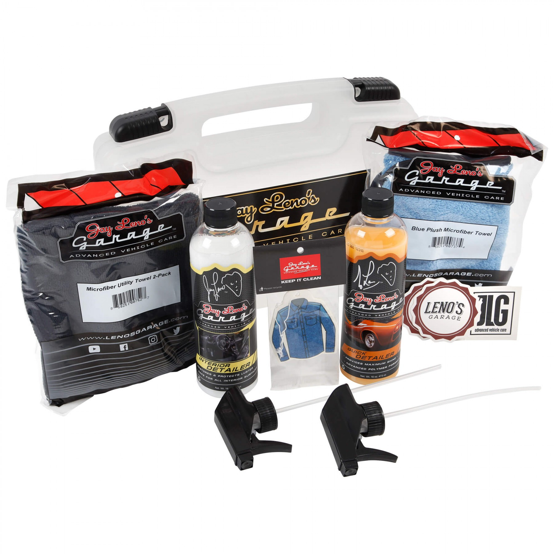 220 870 car show detail kit with case by jay leno 39 s garage for Kit di case di garage