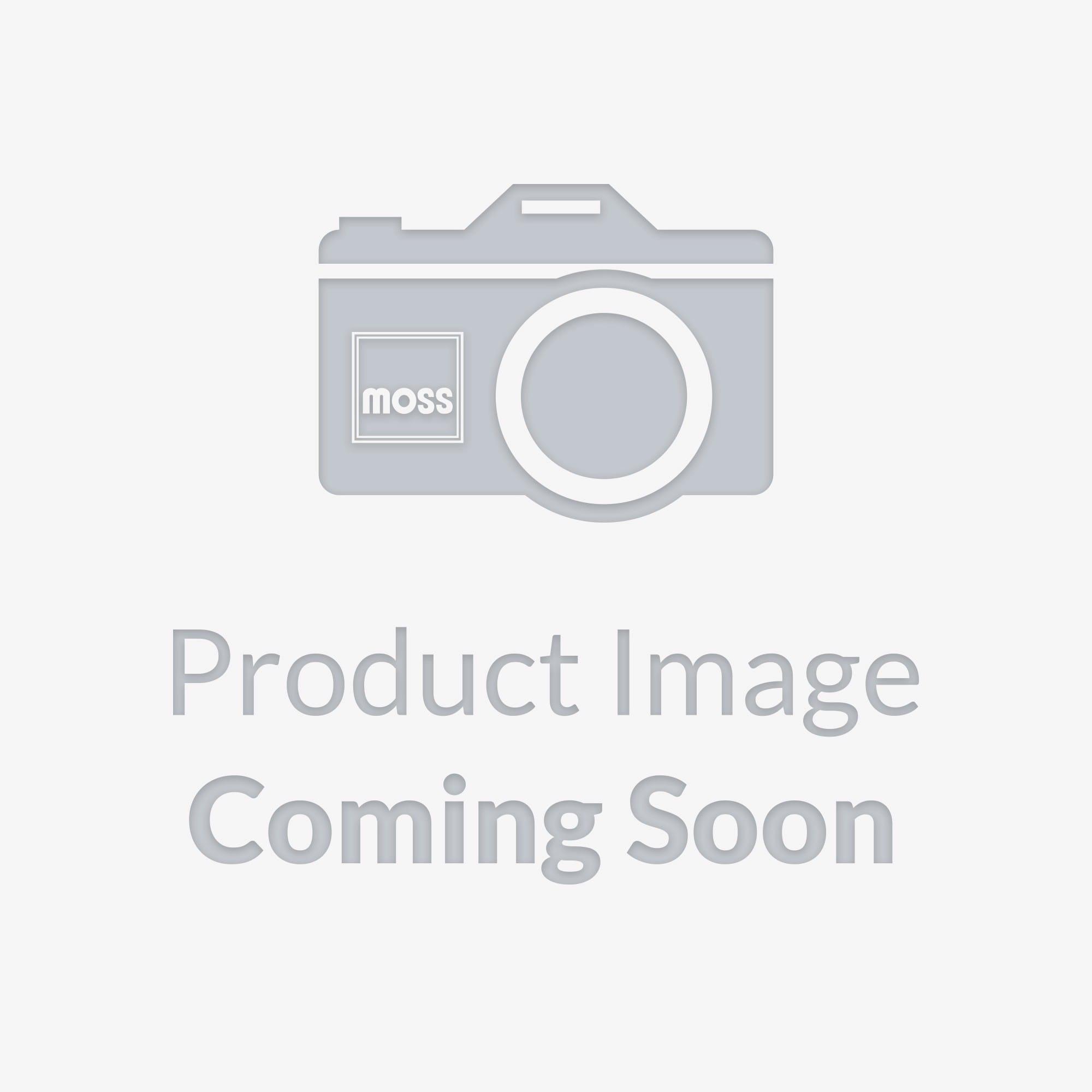 222 797 Mgb License Plate Frame Polished Moss Motors