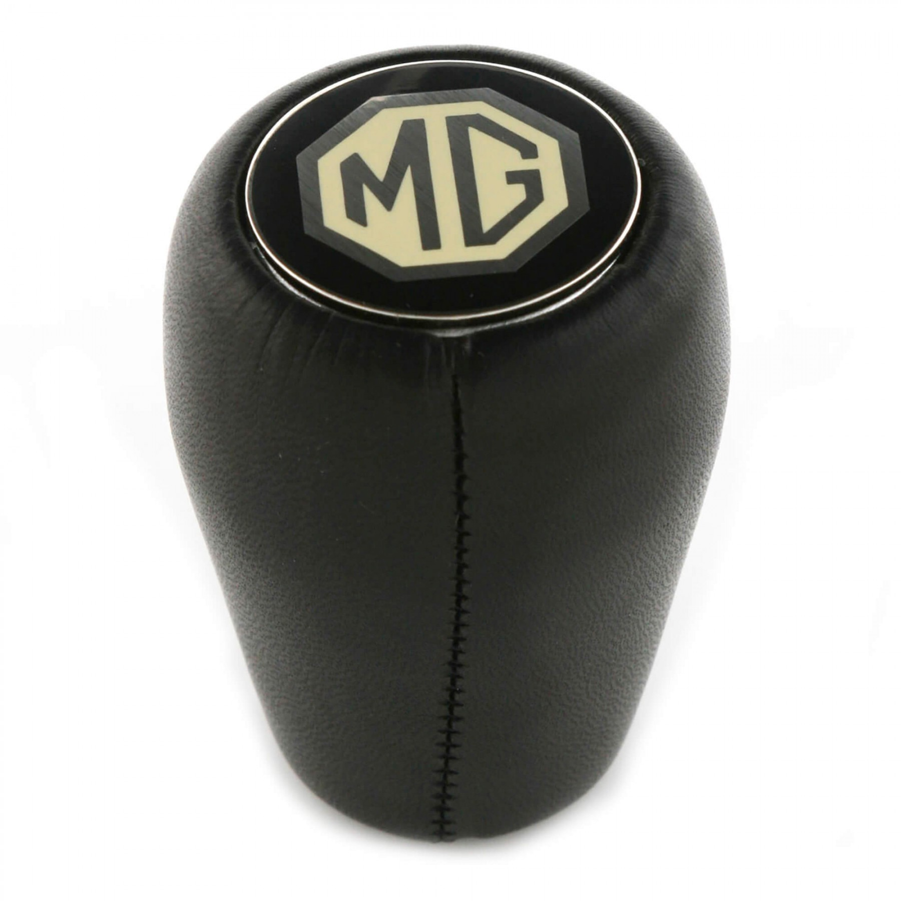 234 015 Mg Leather Shift Knob Black Moss Motors