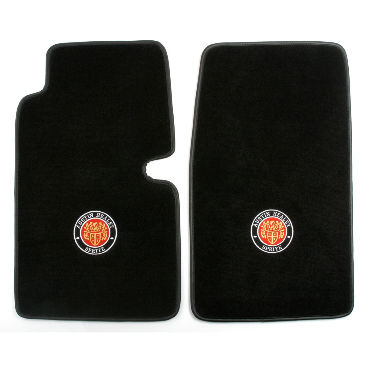 240 471 Ultra Plush Embroidered Mats Austin Healey