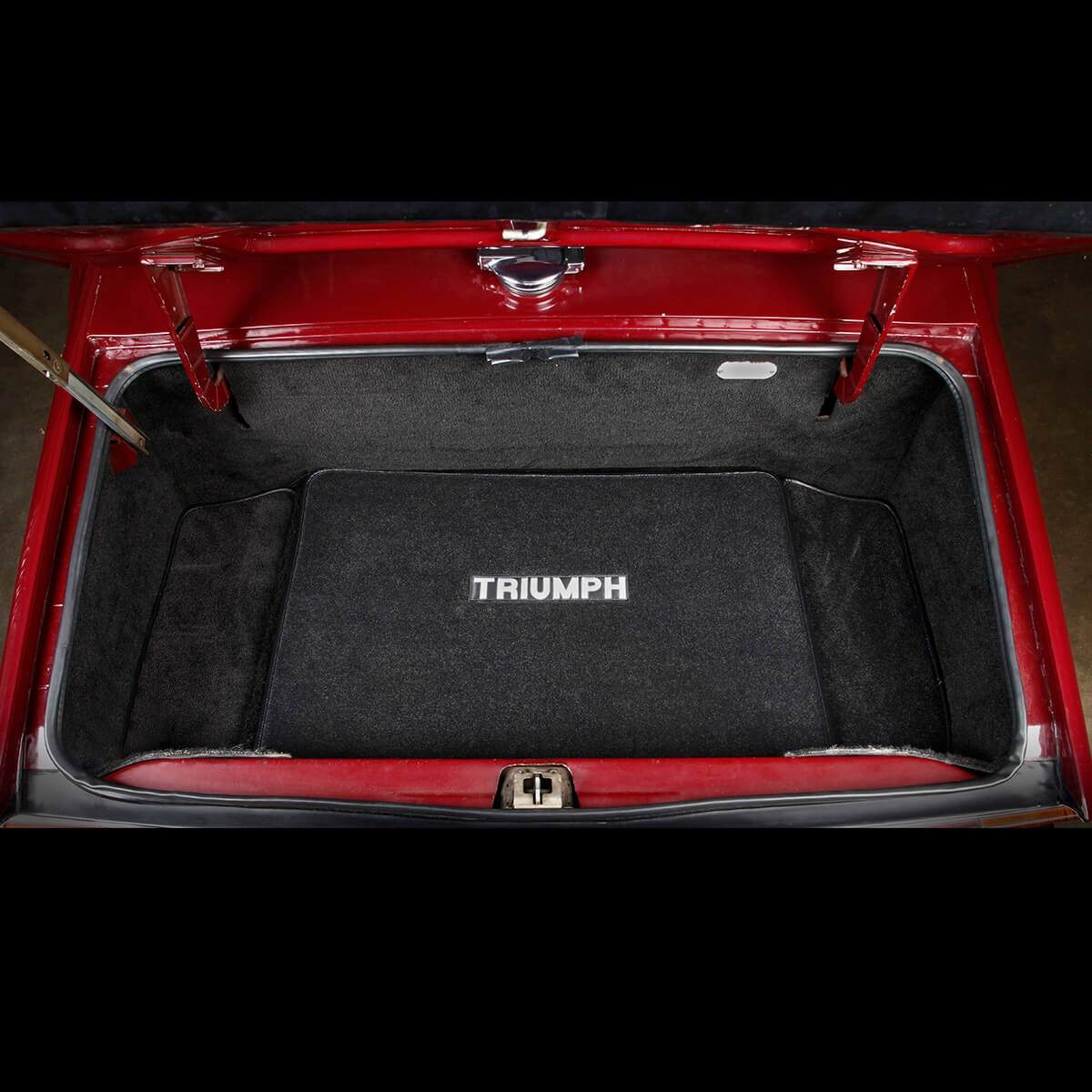 240 770 Ultra Plush Trunk Mat With Logo Moss Motors
