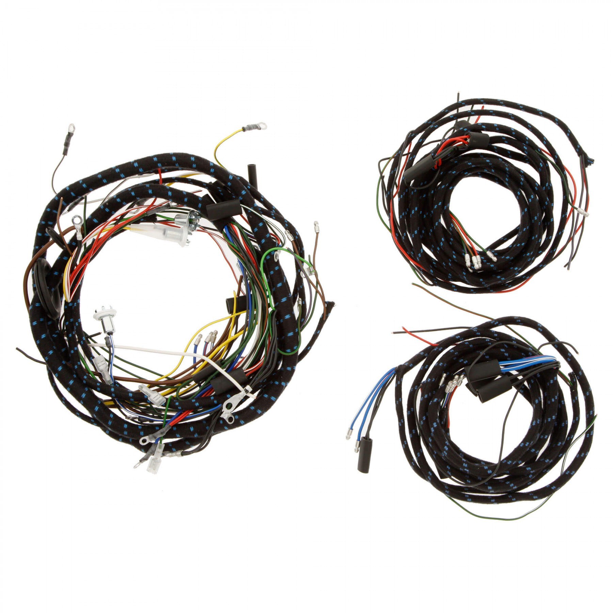 356 100 wiring harness cloth moss motors. Black Bedroom Furniture Sets. Home Design Ideas