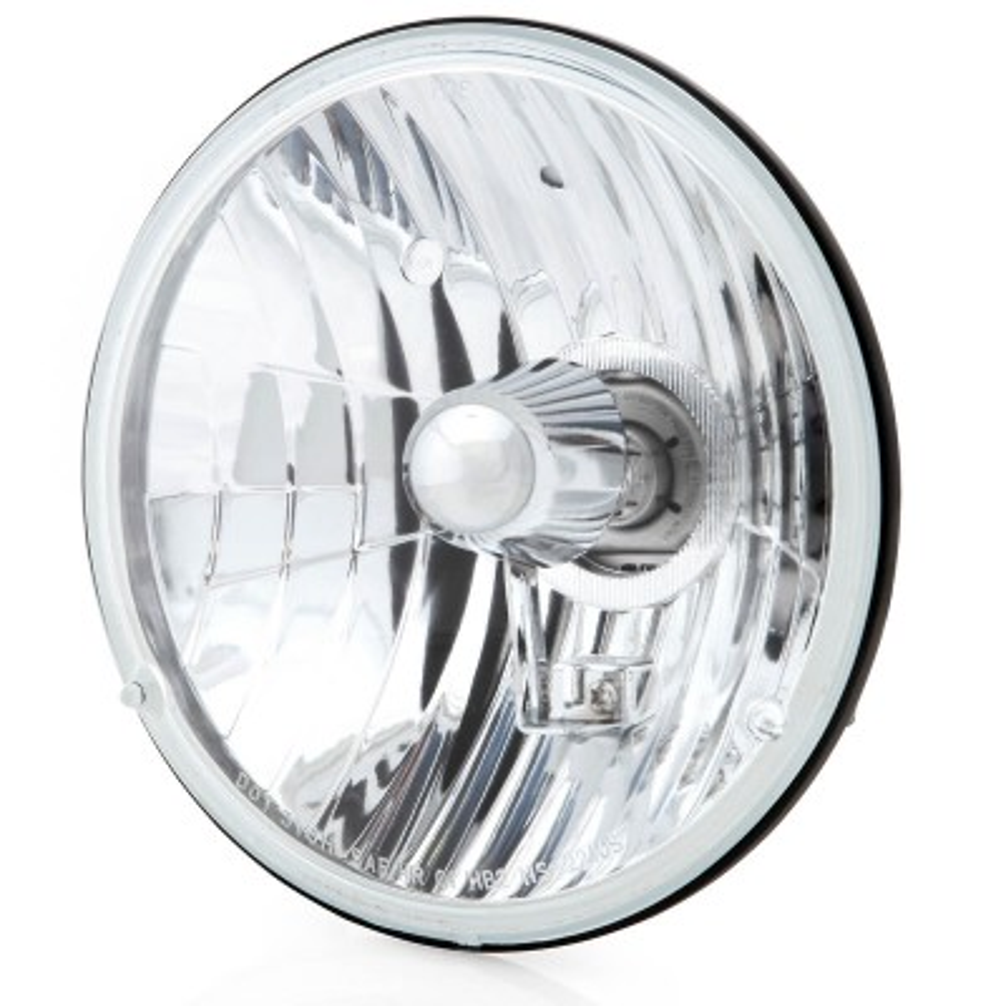 "Triumph Pair 7/"" Halogen Sealed Beam Conversion Headlights Headlamps MG Mini"
