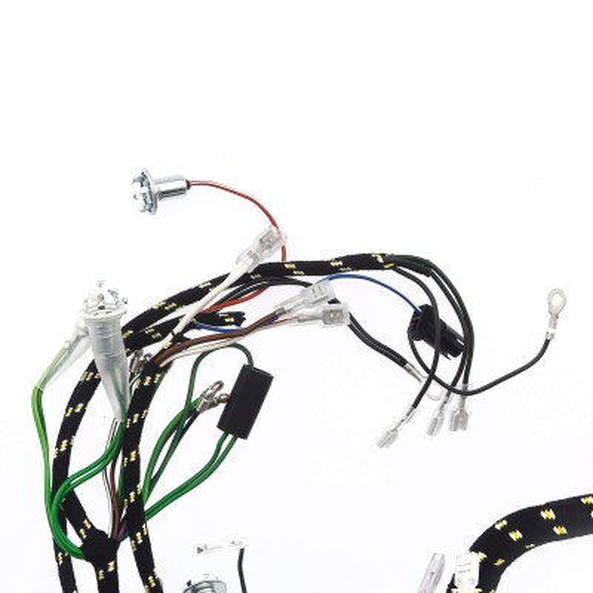 355 035 wiring harness cloth moss motors. Black Bedroom Furniture Sets. Home Design Ideas