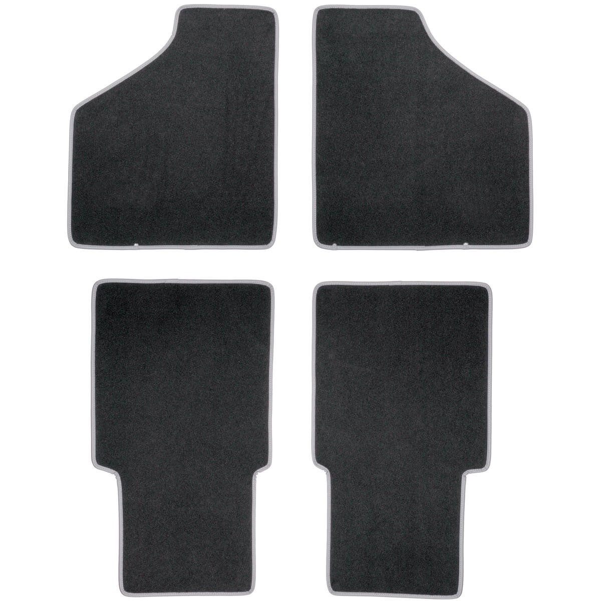 117 711 Footwell Mat Set Front Amp Rear Set Moss Motors