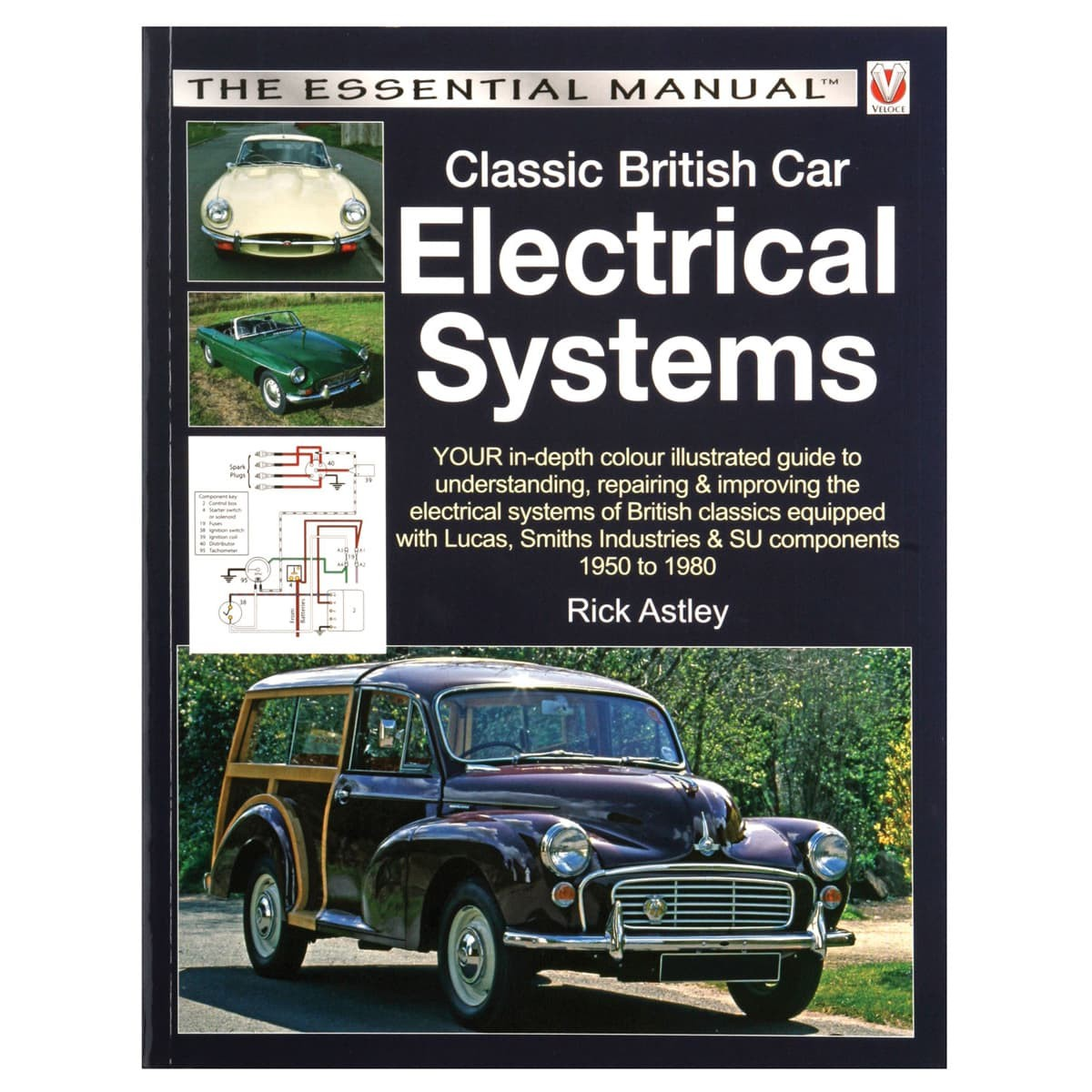 211 810 Book Classic British Car Electrical Systems Moss Motors Mg Midget Mk3 Wiring Diagram