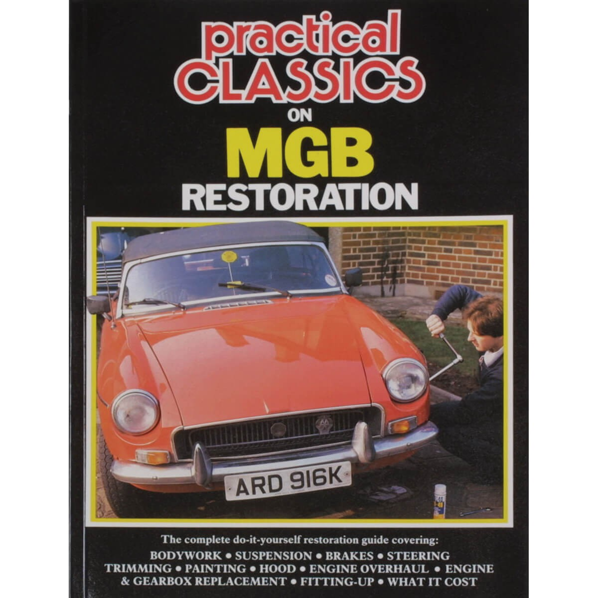 212 370 Book MGB Restoration Moss Motors