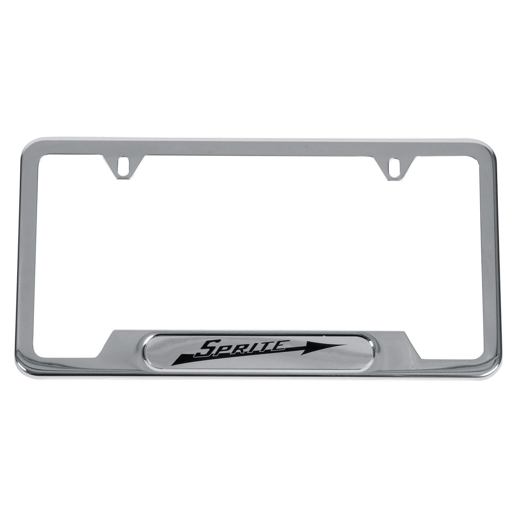 222 880 Sprite License Plate Frame Stainless Steel