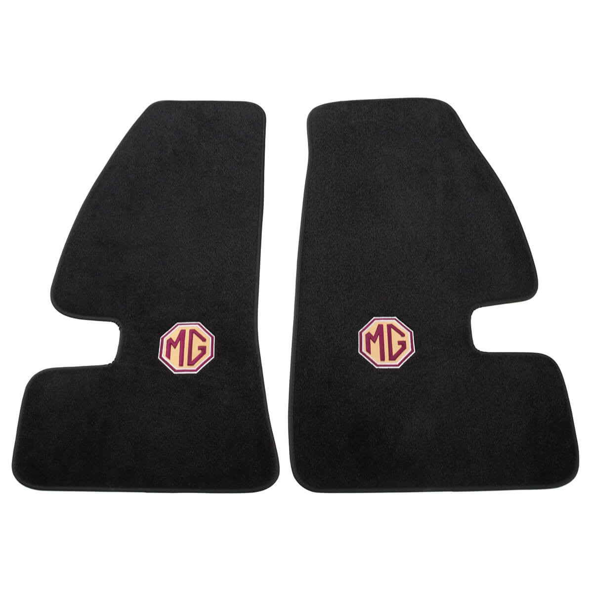240 711 Plush Embroidered Floor Mats Moss Motors