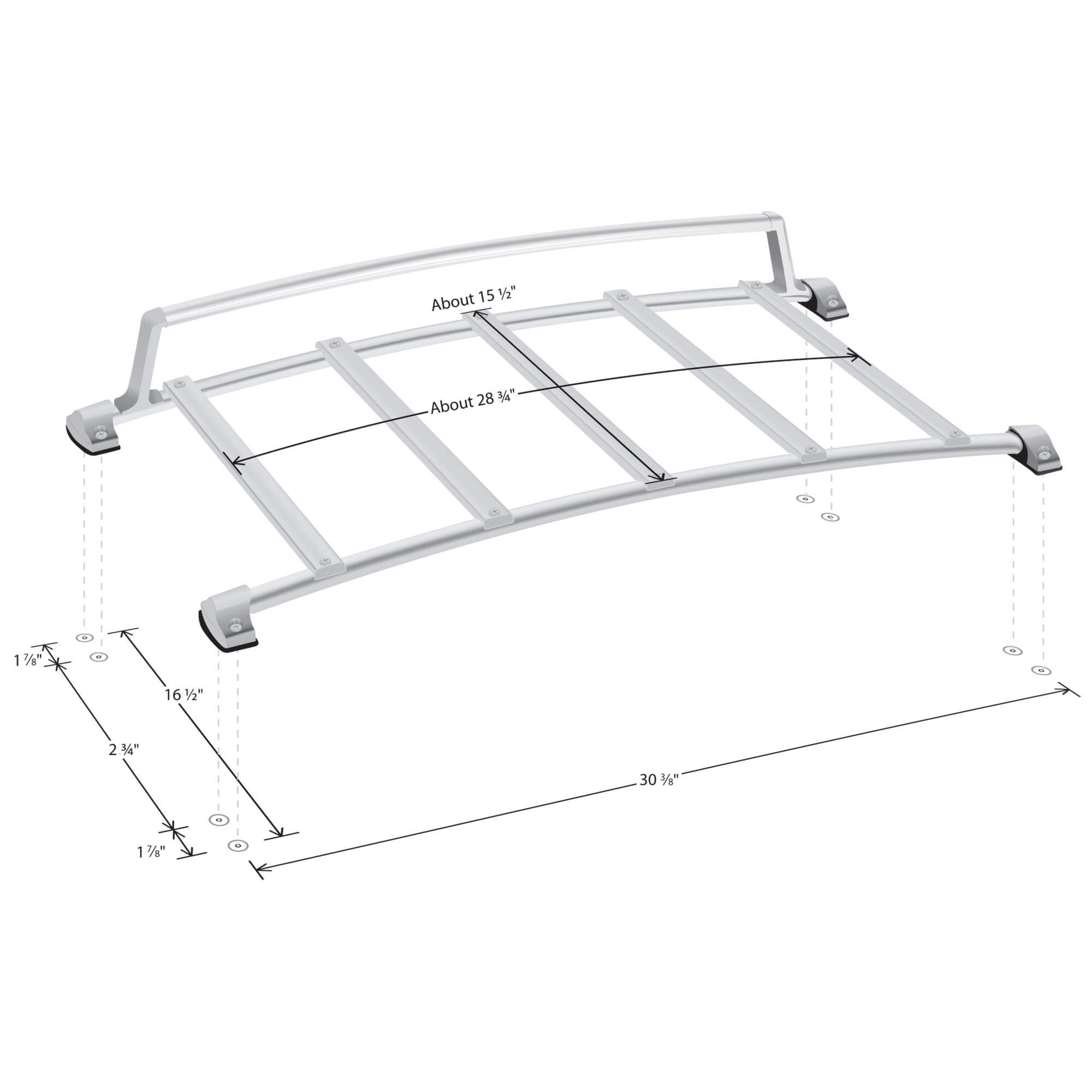 Luggage Rack Factory Option Reproduction on Spitfire Triumph Gt6 For Sale