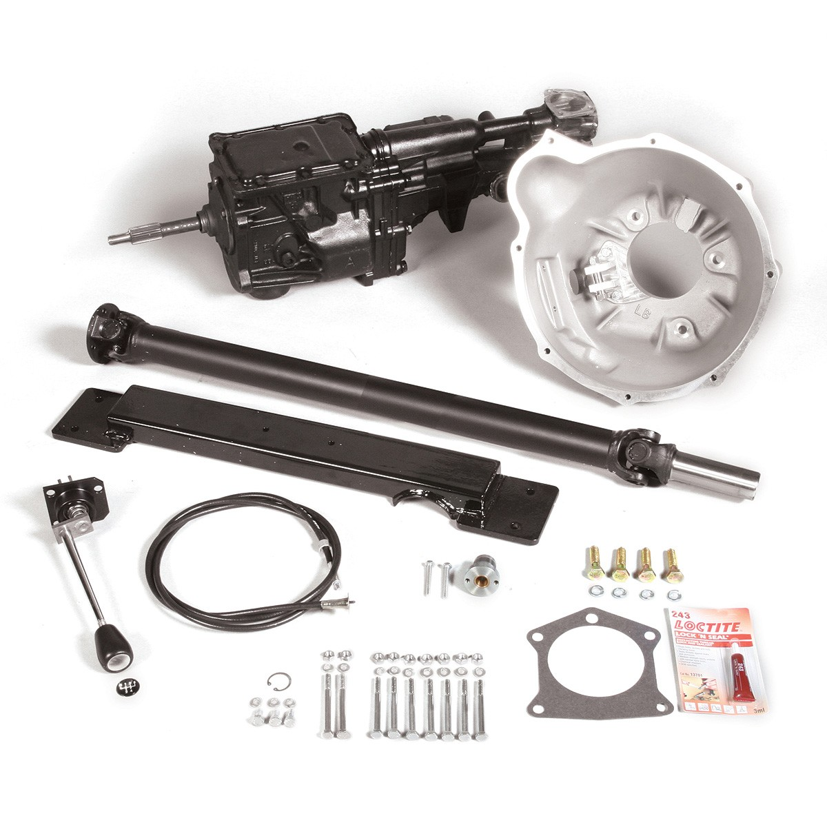 5-Speed Conversion Kit - Gearbox & Driveshaft - Clutch