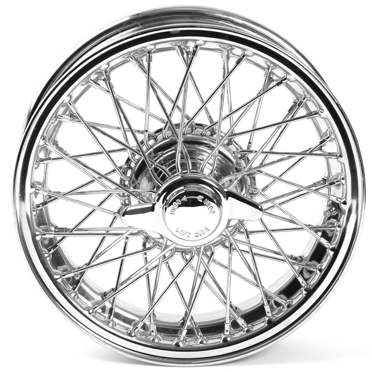 454-630 Wire Wheel, Chrome, 15\