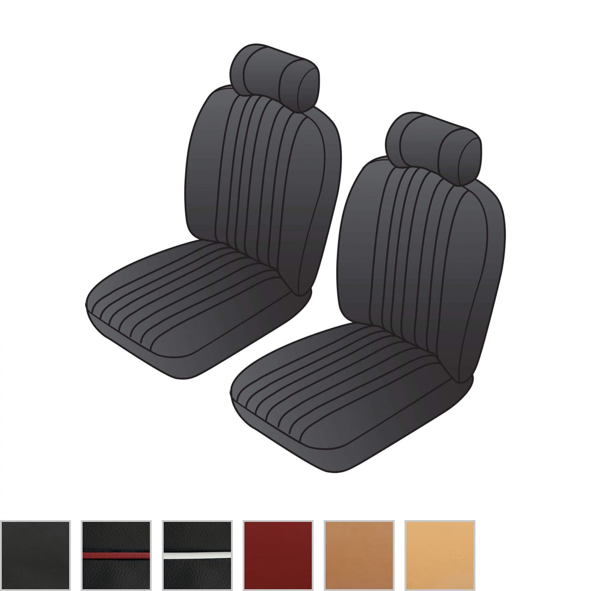 Front Seat Kit Custom Deluxe Seats Seat Kits Upholstery
