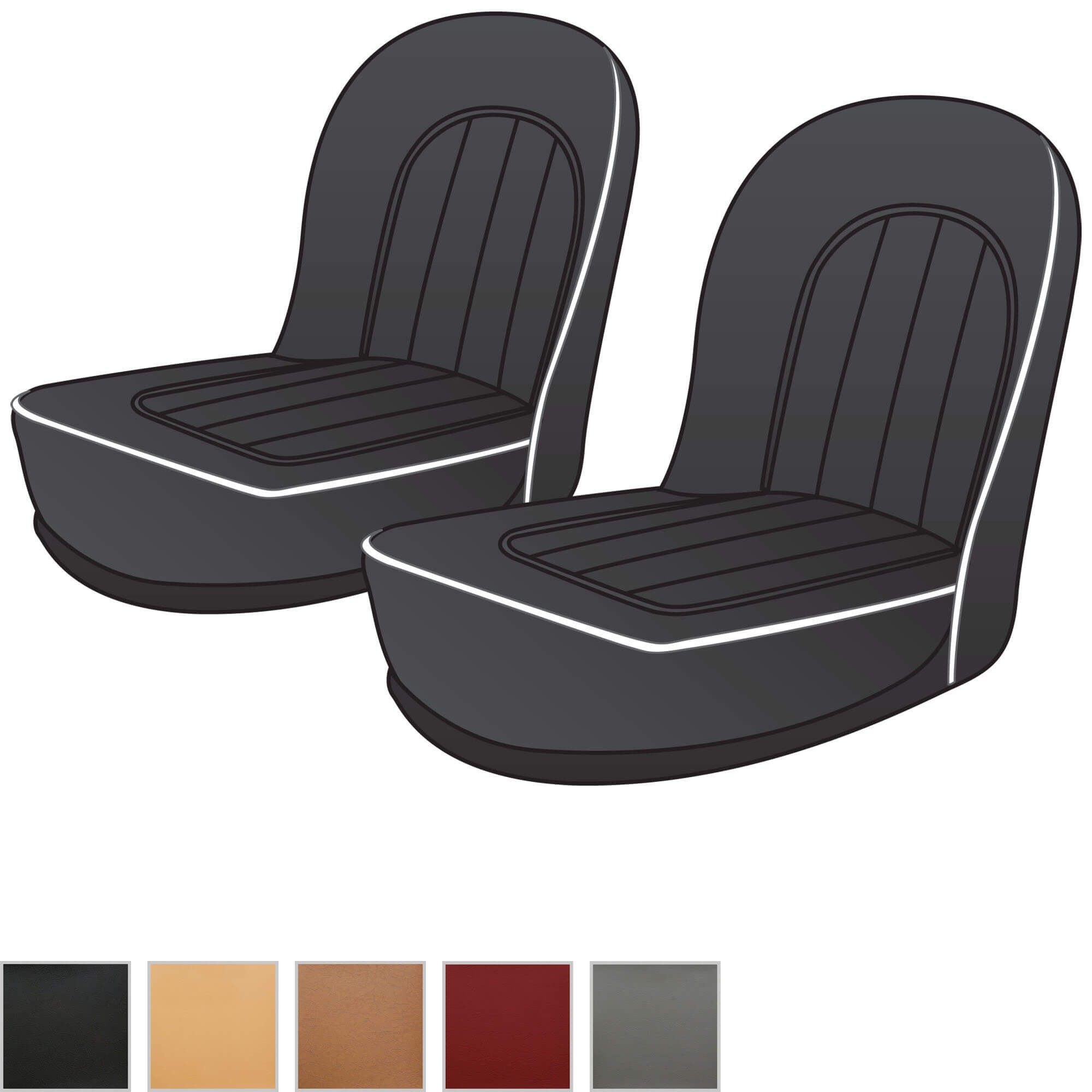 Front Seat Kits Seats Seat Kits Upholstery Interior Trim
