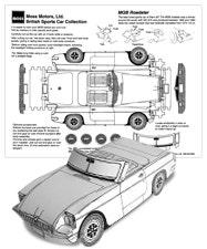 Paper Car Cut Outs Moss Motors
